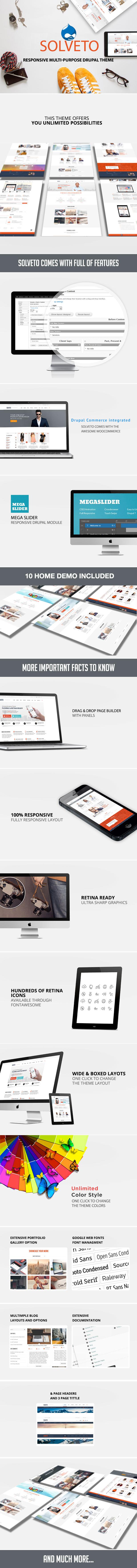 Solveto - Responsive Multipurpose Drupal Theme